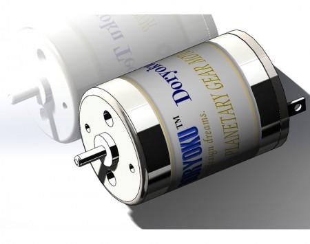 Szczotkowany silnik DIA21 MINI DC - Silnik mikro szczotkowany DC