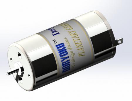 DIA21 LONGERVr。チューブモーター - 10WDCブラッシュドマイクロモーターMEETFaulhaber FLANGE