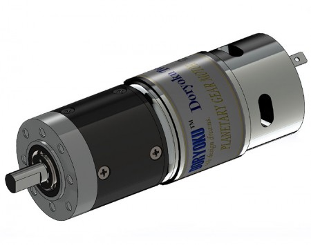 DIA43 DC Strong Planetary Geared - DC brushed strong  Planetary Gear motor applicated for DC Roller, venetian blind, automatic fire rated curtain.