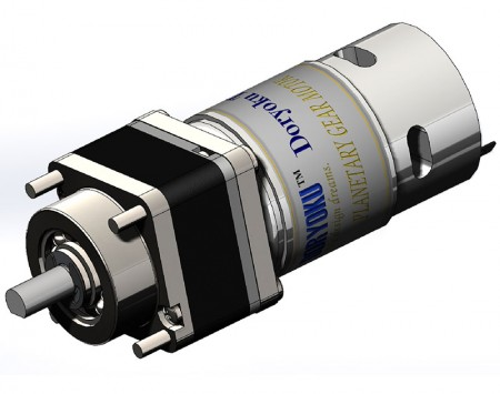 DIA43 Turbo Vr. Planet motor - DC Strong Gear Motor for Swing Door.