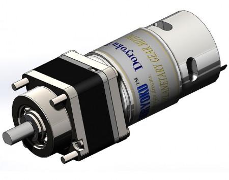DIA43 Turbo Vr. Planet motor - DC Strong Gear Motor for Swing Door.