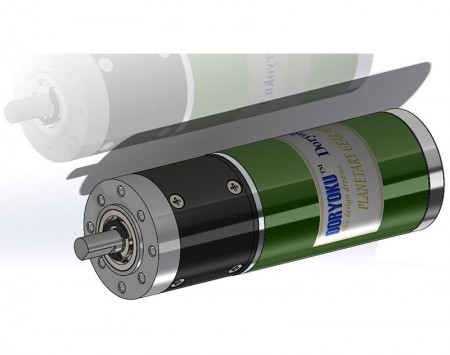 DIA43 Servo motor Gearbox - DC Brushed Strong Motor with Planetary Gear Reduction