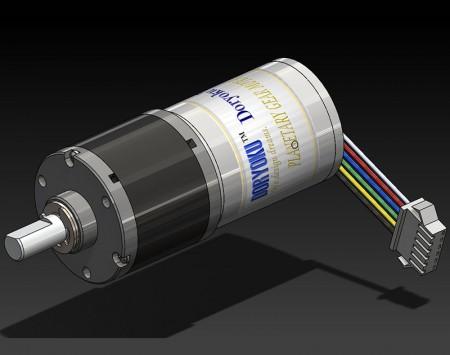 DIA37 L34/43 BLDC  Motors - DC Brushless Gear Motors