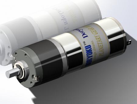 DIA22-L42プラネタリーモーター - プラネタリ減速機付きDCブラシ付きモーター、連続トルク安定。