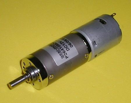 直流減速馬達P26MF360