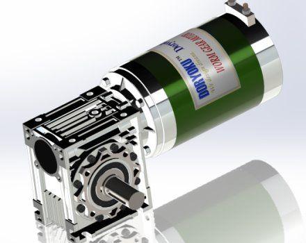 700W DIA124 050 Motoreduktor - Silnik z przekładnią ślimakową DC, WG124, NMRV 050, rozmiar kołnierza: 63B5,71B14,71B3,80B14,80B5. DANE SIATKOWE są dostępne.