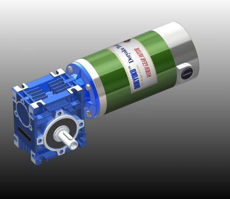220W DIA80 Worm Gear AGV - DC Worm Gear Motor WG80M.Motovario NMRV 030 56B14 installed in garden tool, lawn mower. NMRV 040 or 63B14 is option.