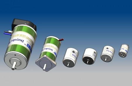 DC Motor - DC Carbon Brush Motor 1W to 1000W.