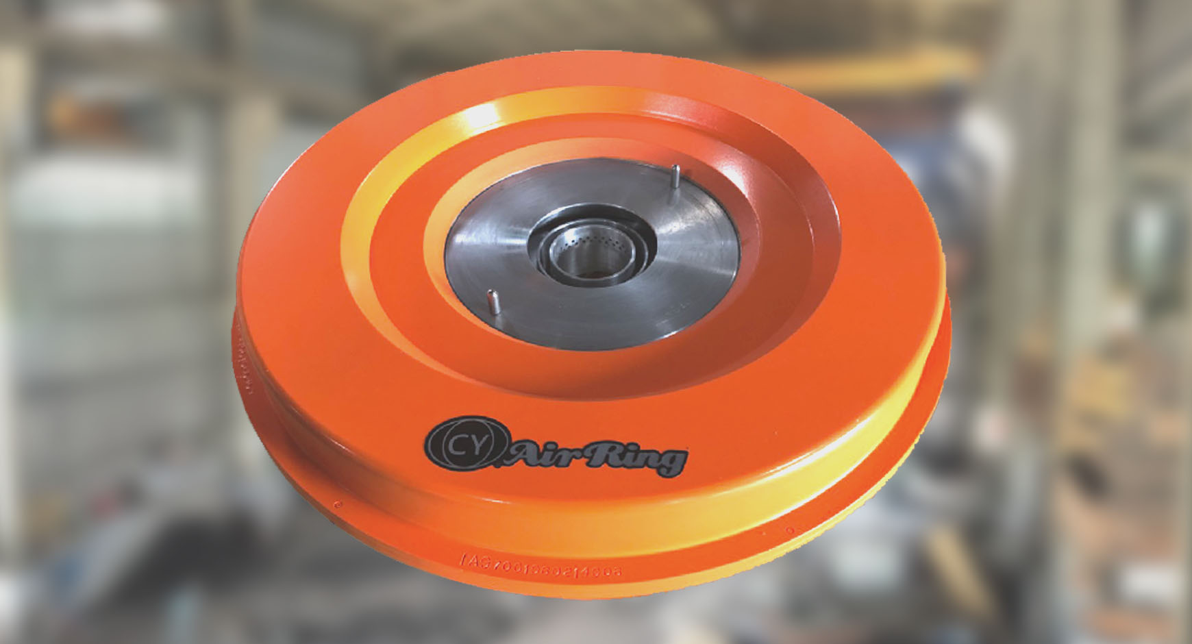Dual Lips Air Ring - Fast Cooling and Neat Surface blown film.