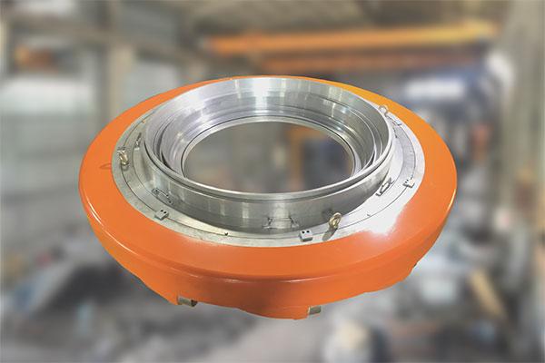 Производство воздушных колец, от литья алюминия в песчаные формы до механической обработки.