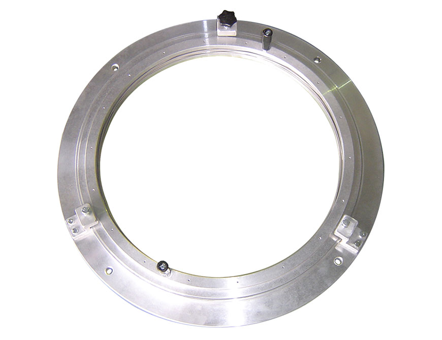 Adjustable manual type stabilizing ring