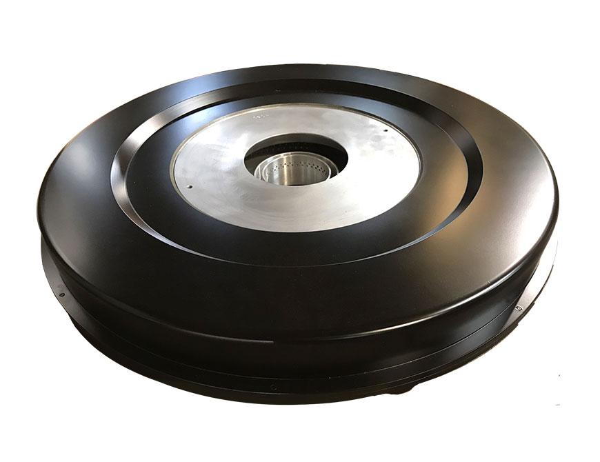 HDPE tek tabakalı / ABA için, sabit kabarcık; düşük kalınlık değişimi, hızlı soğutma.