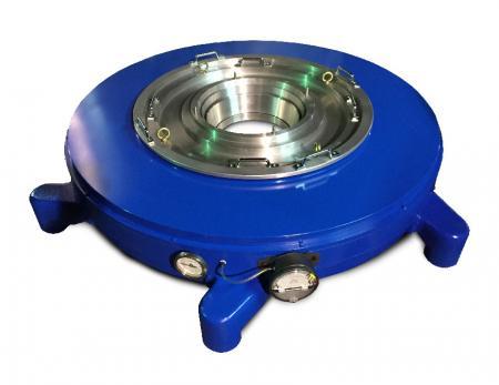 Vòng không khí LDPE LLDPE Hi-Lo BUR - Thiết kế tay cầm trên cùng cho các lối ra dưới và trên có thể điều chỉnh được.