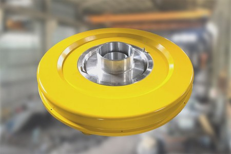 Hot Product Air Ring สำหรับ HDPE/HDPE ABA.