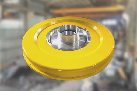 Воздушное кольцо горячего продукта для HDPE / HDPE ABA.