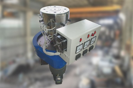 Single layer die head and Rotary device.
