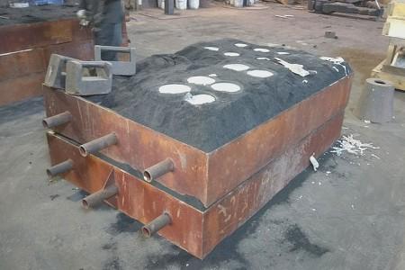 Dobrý design a ovládání pro vynikající objekty odlévající písek.