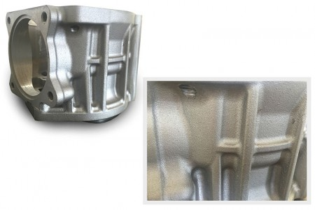 Sand Casting Aluminum surface better than iron forging works.