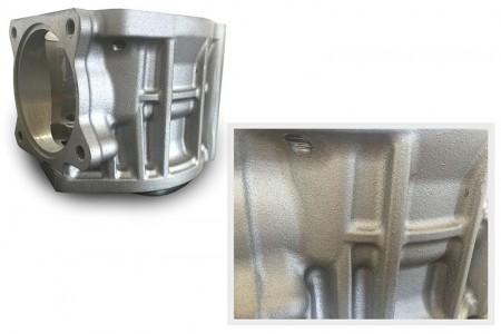 Surface en aluminium de moulage au sable meilleure que les travaux de forgeage du fer.