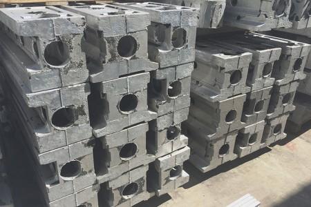 Pièces géantes de pièces de robot - Travaux de précision pour les pièces de robot.