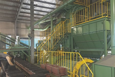 Automatic sand mold machine - For volume production castings.