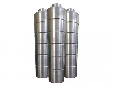 Centrální sloup - Centrální kolona se aplikuje na HDPE bublinu s dlouhým krkem stabilizačního účinku. Celá sada centrálních sloupků obsahuje: železnou tyč, kus středního sloupku a zabalenou látku. Všechny druhy velikostí lze přizpůsobit.