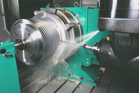 Precision processing die head