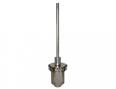 Đầu điều chỉnh độ dày màng tinh chỉnh với ống IBC - Đầu Die tinh chỉnh với Bộ làm mát bong bóng bên trong.
