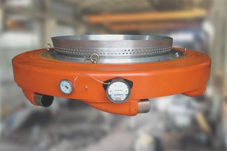 Lämpligt sortiment av munstyckshuvud från LDPE200 till LDPE850mm läppstorlek.