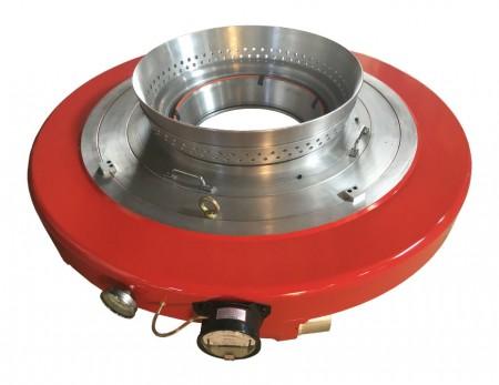 LDPE LLDPE vzduchový kroužek s nízkými variacemi se dvěma rty - Pro tenký obal, malá variabilita tloušťky, vysoký výkon, snadné nastavení.