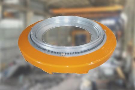Pro 1200 mm Die Lip nastavitelný vzduchový kroužek.