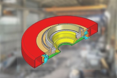 Each screw control each single exit as fine tuning requirement.