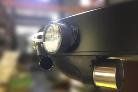 Temperature & Pressure gauge equipping to control air input accordingly.