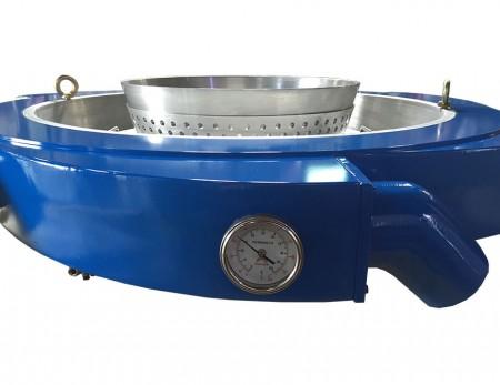 Lubang masuk desain tipe swirl untuk konduksi udara yang kuat dan halus
