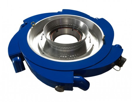 LDPE LLDPE Air Conduction Dual Lips Air Ring - สำหรับบรรจุภัณฑ์ฟิล์มบาง ความหนาผันแปรต่ำ ผลผลิตสูง ติดตั้งง่าย