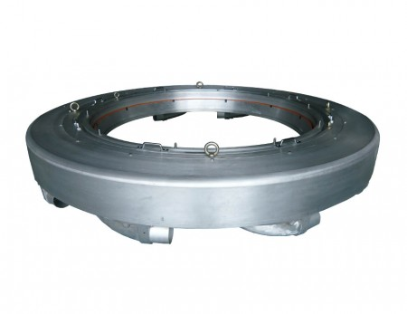 LDPE LLDPE วงแหวนอากาศริมฝีปากคู่แบบนิ่ง - ฟิล์มเกษตร ฟิล์มที่ดิน เรือนกระจก วงแหวนลมยักษ์ สูงถึง 3000 มม. od