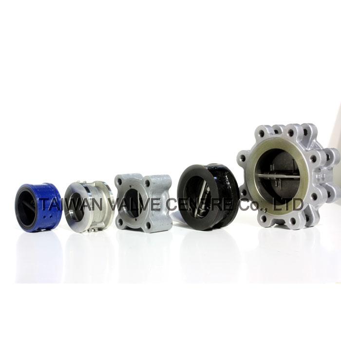 Lug check valve, flange check valve