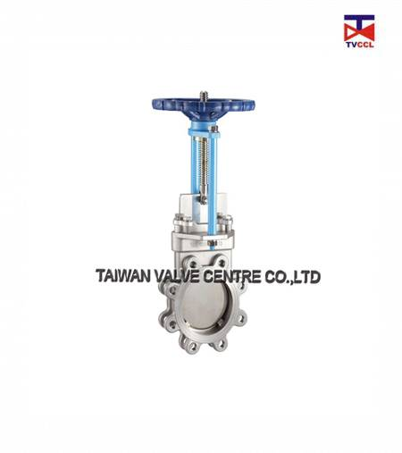 Knife-Gate valves could only use at fully open and full close position to control the fulid
