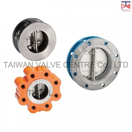 Dual Plate Wafer Type Check Valve - Duo check valve,Butterfly check Valve