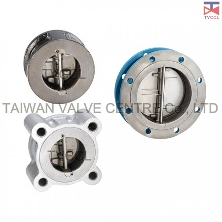 Retainerless Type Check Valve - Dual Retainerless Type Check Valve