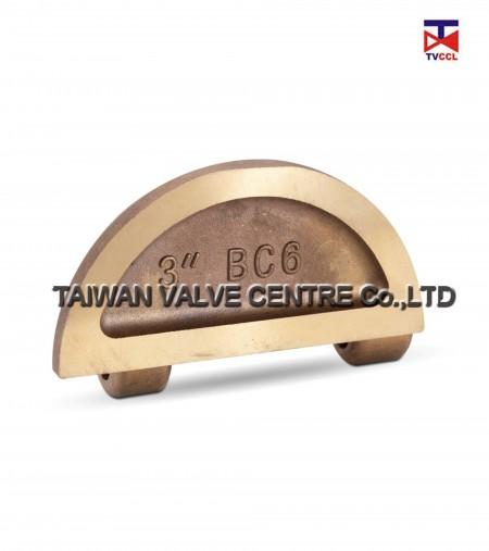 Bronze Lug dual check valve