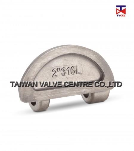 CF3M Lug dual check valve
