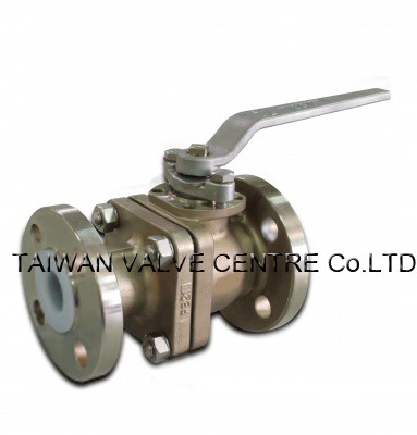 PFA Lined Stainless Steel Ball Valves - PFA Lined ball valve