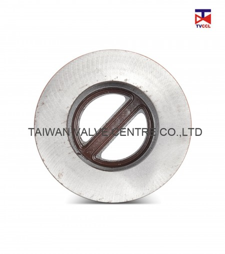 Cast Steel Dual Plate Wafer Type Check Valve - Dual plate Check valves are easier to install than traditional check valves