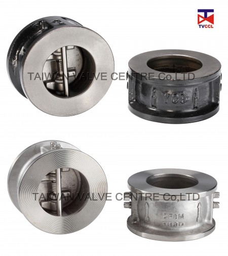 Dual Plate Wafer Type Check Valve - Dual plate Check valves are easier to install than traditional check valves