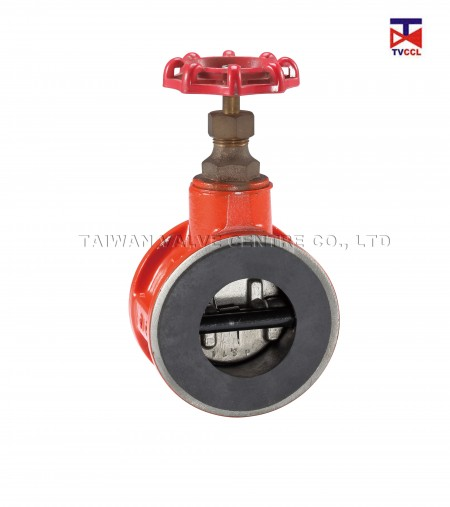 Dual Plate By Pass Type Check Valve with Full Rubber - You need to install Bypass valve if fluid go back upstream after it pass check valve.