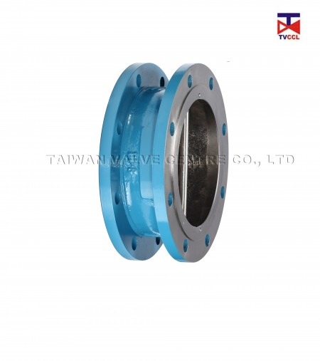 304 Stainless Steel Dual Plate Flange Type Check Valve - Different environment and different area needs different flange check valve.