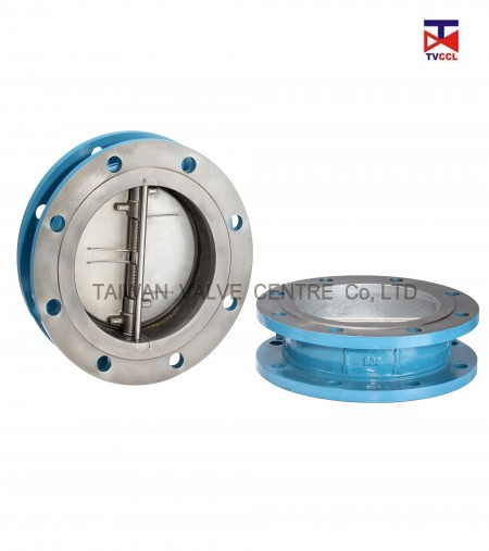 Dual Plate Flange Type Check Valve - Different environment and different area needs different flange check valve.