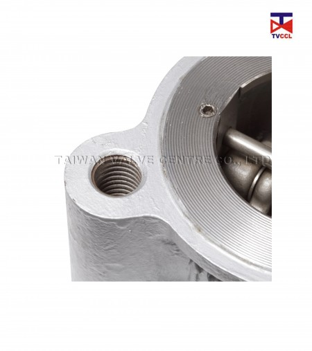 Stainless Steel Dual Plate Lug Type Check Valve