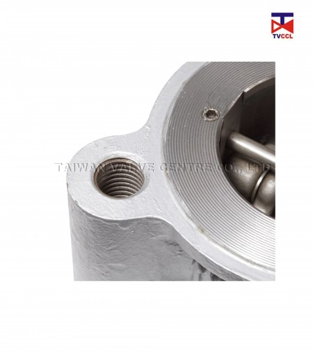 Ductile Iron Dual Plate Lug Type With Full  Rubber Check Valve